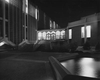 Agricultural Science Building (Ag. Science North), exterior at night