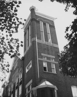 Barker Hall; Public Relations photo