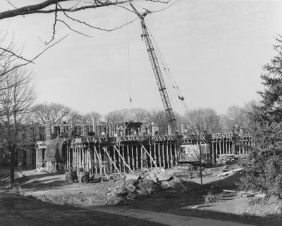 Construction of Commerce Building