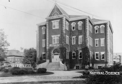 Miller Hall's cornerstone was laid August 28, 1897 and it was dedicated January 21, 1898