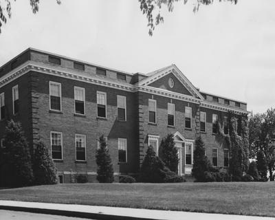 Thomas Poe Cooper Building which now houses the Forestry Department