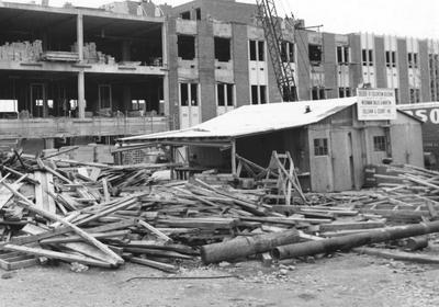Construction of Dickey Hall