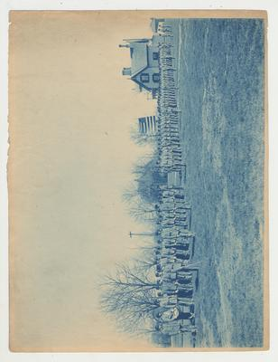 Military Battalion preparing to go to camp at Ashland, Kentucky