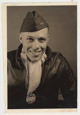 A young man in uniform