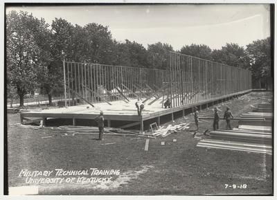 University of Kentucky military technical training during World War I