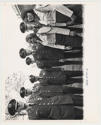 The 1969 Pershing Rifles.  This photo is in the 1969 Kentuckian on page 370