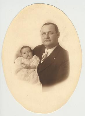 Possibly George Bliss of Rushville, Indiana and Indianapolis, Indiana.  George Bliss was the father of Mae Bliss McDowell and was a successful haberdasher in Rushville and Indianapolis, Indiana