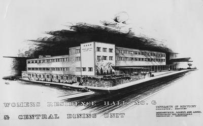 Architectural drawing of