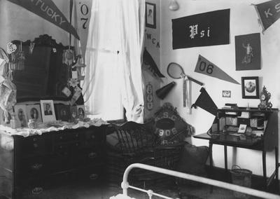 A photo of a room in a girl's dorm