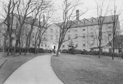 Built in 1925, Boyd Hall was the second girl's dormitory built on the University of Kentucky's campus