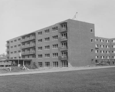 Donovan Hall under construction. Donovan Hall was named after former University of Kentucky President Herman L. Donovan. On May 30, 1955, the dedication occurred