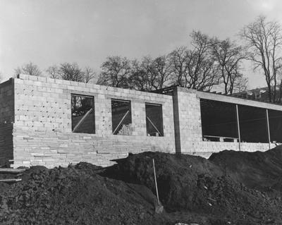 Construction of Holmes Hall began on June 27, 1956, a woman's dormitory which was dedicated on May 25, 1958 for Sarah B. Holmes