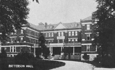 Patterson Hall, UK's first woman's dorm completed in 1904, was named after James K. Patterson