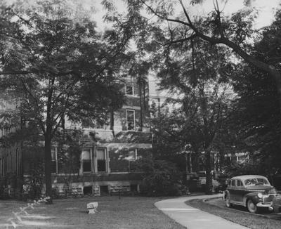 Patterson Hall, UK's first woman's dorm completed in 1904, was named after James K. Patterson. Photographer: W. E. Sutherland