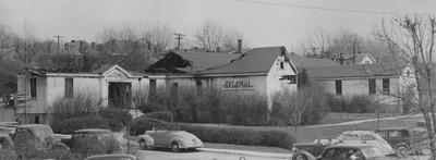Guignol Theater fire. Photographer: W. E. Sutherland