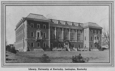 Margaret I. King Library postcard
