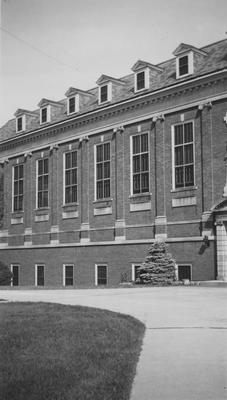 Old main entrance of King Library