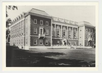 The exterior of the Margaret I. King Library