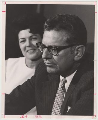 President Singletary is being watched by his wife Gloria Singletary