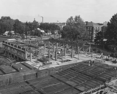 Construction of the Law Building