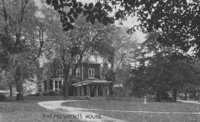 A small photo of the President's House (Maxwell Place)