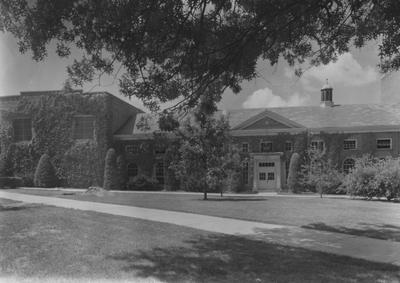 Engineering Building--North Side. Received October of 1949 from Public Relations