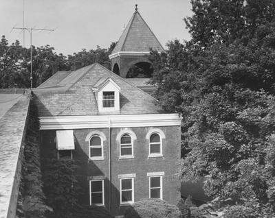 Roof top view of Anderson Hall