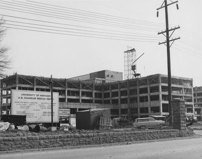 Medical Center construction. Received April 15, 1960 from Public Relations