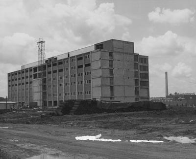 Medical Center construction. Received July 1, 1959 from Public Relations