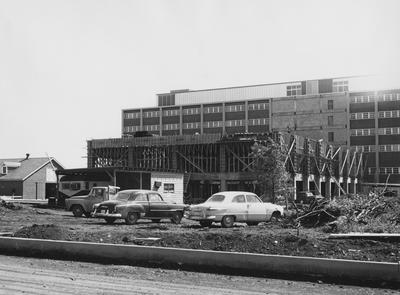 Medical Center construction. Received July 10, 1960 from Public Relations