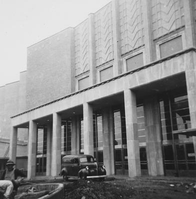 Front of Memorial Coliseum