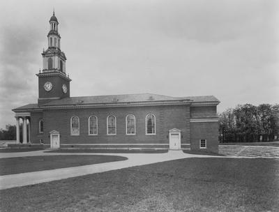 Memorial Hall around the time of its construction in 1929. Photographer: Starman Studios