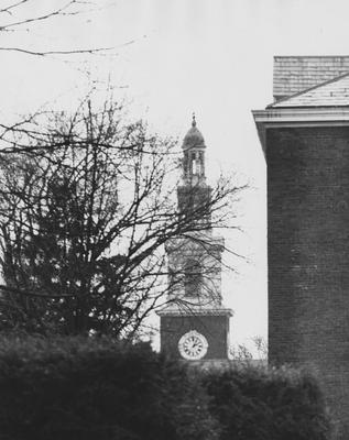Clock on Memorial Hall. Photographer: John Mitchell