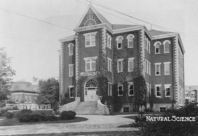 This photo shows Miller Hall in the 1920's when at this time it was called Science Hall