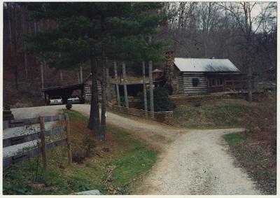 Jess Wilson's cabin on Possum Trot Creek