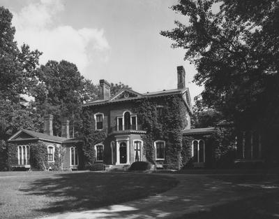 Ashland-historic home of Henry Clay. Received June 1966 from Professor Victor Portman; Kentucky Press Association