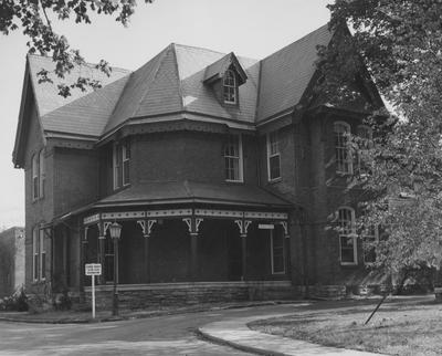 The Patterson House was the home of former President James K. Patterson. This was President Patterson's home until Maxwell Place was bought. In 1967, the house was destroyed