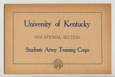University of Kentucky Vocational Section; Students Army Training Corps, Third Detachment