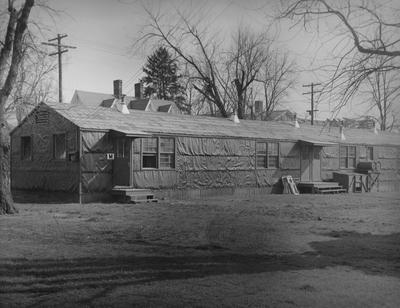Barracks for men. Photographer: W. E. Sutherland