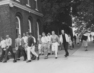 Welcome Week--Tour guide is Chappell Wilson Received September 25, 1959 from Public Relations