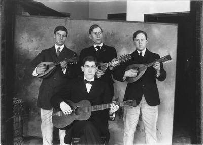 The Mandolin Club of 1910-1911 grew to ten members as a result of the work of this foursome