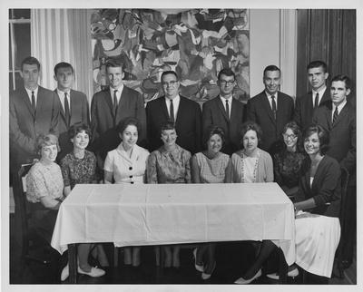 Phi Beta Kappa initiates. Received May 16, 1963 from Public Relations