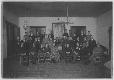 Union Literary Society circa 1890; Presented by Mrs. James Blythe Anderson July 18, 1946