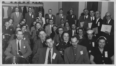 Utopia Club members during Club Conference February 4, 1954