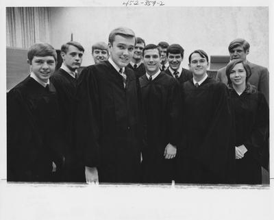 Societas Pro Legibus; This image in 1969 Kentuckian on page 359, image 2