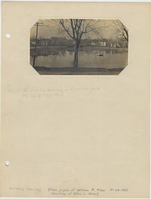 A picture of Clifton Pond; Received 1987, October 23 from the papers of William R. Allen