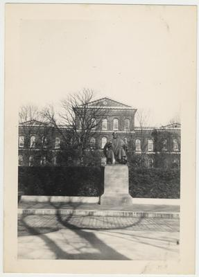 Patterson statue, south of