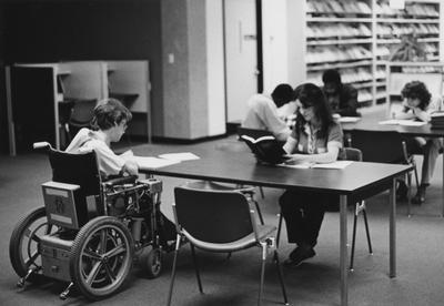 The 1970s brought many changes to the campus, including more attention to the needs of those students with disabilities