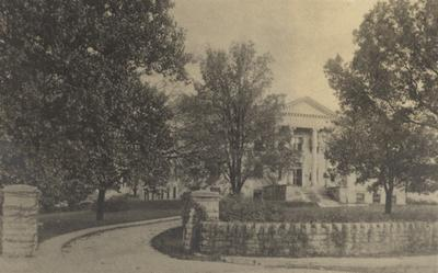 Card of College of Agriculture, Scovell Hall