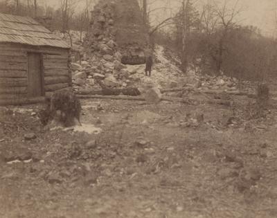 A furnace south of Salt Lick, Kentucky